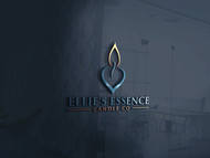 ellie's essence candle co. Logo - Entry #36
