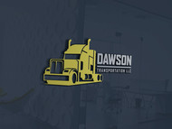 Dawson Transportation LLC. Logo - Entry #237