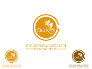 Golden Oak Wealth Management Logo - Entry #146