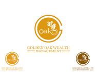 Golden Oak Wealth Management Logo - Entry #146