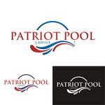 Patriot Pool Service Logo - Entry #198