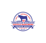American Diamond Cattle Ranchers Logo - Entry #187
