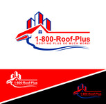 1-800-Roof-Plus Logo - Entry #110