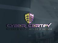 Cyber Certify Logo - Entry #105