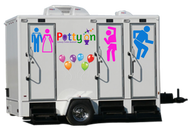 Potty On Luxury Toilet Rentals Logo - Entry #91