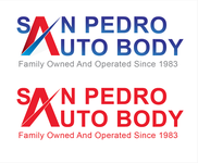 San Pedro Auto Body Logo - Entry #92