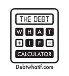 The Debt What If Calculator Logo - Entry #86