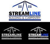 STREAMLINE building & carpentry Logo - Entry #135