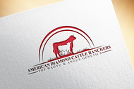American Diamond Cattle Ranchers Logo - Entry #146