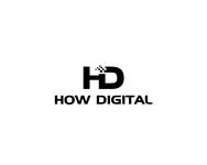 How Digital Logo - Entry #21