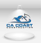CA Coast Construction Logo - Entry #225