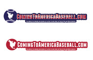 ComingToAmericaBaseball.com Logo - Entry #27