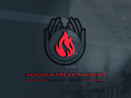 Acadiana Fire Extinguisher Sales and Service Logo - Entry #211