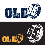 """""""OLD 55"""" - mid-century vintage furniture and wares store Logo - Entry #36"""
