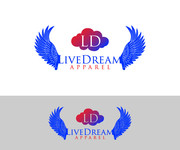 LiveDream Apparel Logo - Entry #255