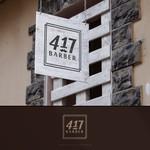 417 Barber Logo - Entry #17