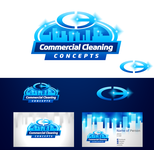 Commercial Cleaning Concepts Logo - Entry #111