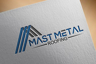 Mast Metal Roofing Logo - Entry #43