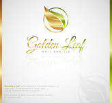 Golden Leaf Nail Bar LLC Logo - Entry #50