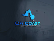 CA Coast Construction Logo - Entry #147