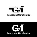 GM Landscape Construction Logo - Entry #29