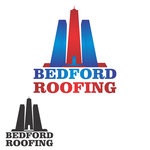 Bedford Roofing and Construction Logo - Entry #4