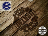 DELIGHT Pizza & Wings  Logo - Entry #65