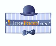iHireFood.com Logo - Entry #147