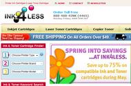 Leading online ink and toner supplier Logo - Entry #56