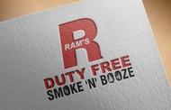 Rams Duty Free + Smoke & Booze Logo - Entry #329