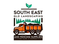 South East Qld Landscaping and Fencing Supplies Logo - Entry #69