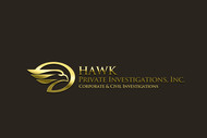 Hawk Private Investigations, Inc. Logo - Entry #101