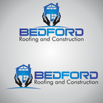 Bedford Roofing and Construction Logo - Entry #47
