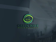 Green Wave Wealth Management Logo - Entry #418