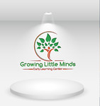 Growing Little Minds Early Learning Center or Growing Little Minds Logo - Entry #112