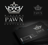 Either Midtown Pawn Boutique or just Pawn Boutique Logo - Entry #87