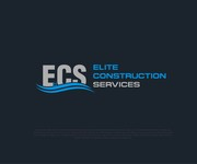 Elite Construction Services or ECS Logo - Entry #192