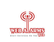 Logo for WebAlarms - Alert services on the web - Entry #91