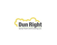Dun Right Spray Foam and Coating LLC Logo - Entry #12