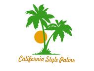 California Style Palms Logo - Entry #44