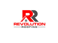 Revolution Roofing Logo - Entry #565