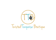 Twisted Turquoise Boutique Logo - Entry #20