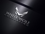 White Wolf Consulting (optional LLC) Logo - Entry #453