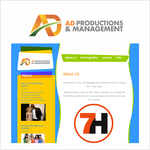 Corporate Logo Design 'AD Productions & Management' - Entry #61
