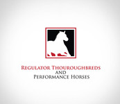 Regulator Thouroughbreds and Performance Horses  Logo - Entry #2