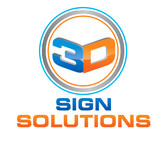 3D Sign Solutions Logo - Entry #7