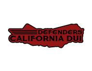 California DUI Defenders Logo - Entry #20