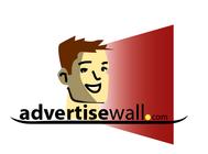 Advertisewall.com Logo - Entry #17