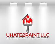 uHate2Paint LLC Logo - Entry #186