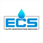 Elite Construction Services or ECS Logo - Entry #3